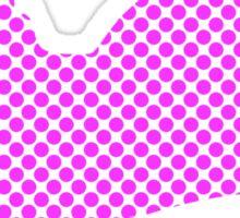 Spotty Dotty Pink Cat Sticker