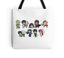 The devil is a part timer chibi Tote Bag