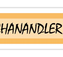Miss Chanandler Bong Sticker Sticker