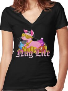 Nug Life (Inquisition) Women's Fitted V-Neck T-Shirt