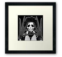 Edward (Stack's Skull Sunday) Framed Print