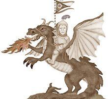 John Kasich Needs a Dragon  by Kim  Harris