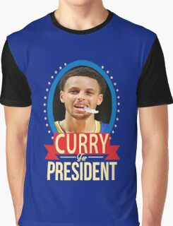 Steph Curry for president Graphic T-Shirt