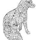 "Color-in ""Foxfire"" Fox by Muninn"