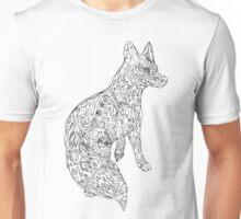 "Color-in ""Foxfire"" Fox Unisex T-Shirt"