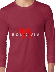 Air Bolivia (dark background) Long Sleeve T-Shirt