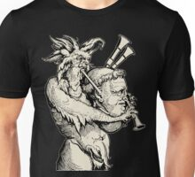 Devil with the Bagpipes Unisex T-Shirt