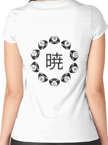 Akatsuki ring Women's Fitted Scoop T-Shirt