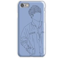 Seventeen - S.Coups line art (Serenity) iPhone Case/Skin
