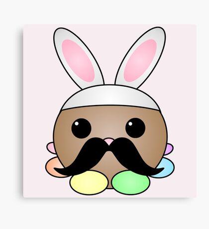 Little Bunny Faux-Faux Canvas Print