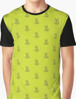 Green Frenchie Graphic T-Shirt