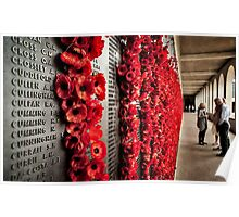 Wall of Remembrance. Poster