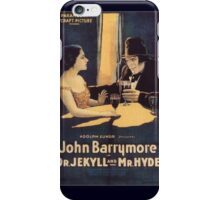 Dr. Jekyll and Mr. Hyde iPhone Case/Skin