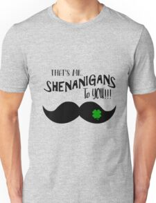 Irish Pride St. Patty's Day Apparel for Him Unisex T-Shirt