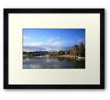 Thorndon Park Reservoir Framed Print