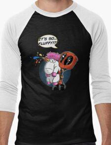 Fluffy! Men's Baseball ¾ T-Shirt