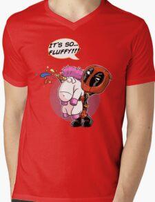 Fluffy! Mens V-Neck T-Shirt