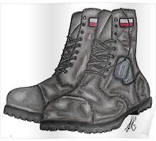 Polish MIA Boots Poster