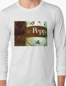 VINTAGE DR. PEPPER Long Sleeve T-Shirt