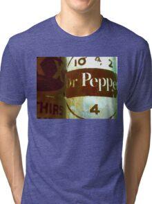 VINTAGE DR. PEPPER Tri-blend T-Shirt