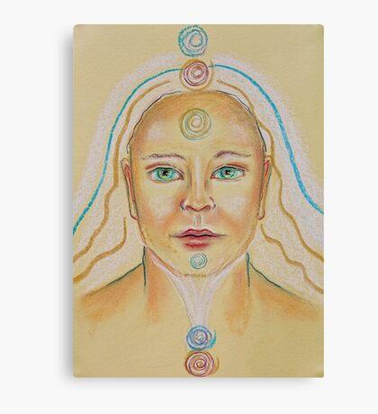 Golden Chakra Canvas Print