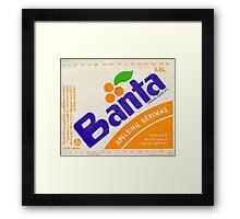 BANTA Framed Print
