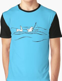 Fishing Boat Graphic T-Shirt