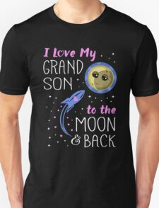 I love my Grandson to the moon and back T-Shirt