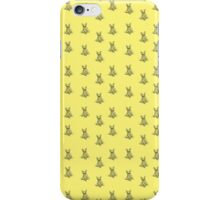Yellow Pattern Frenchie iPhone Case/Skin