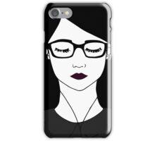 In Her Own World iPhone Case/Skin