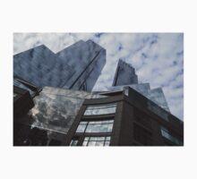 New York Sky and Skyscrapers Baby Tee