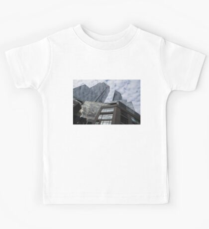 New York Sky and Skyscrapers Kids Tee