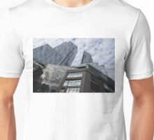 New York Sky and Skyscrapers Unisex T-Shirt