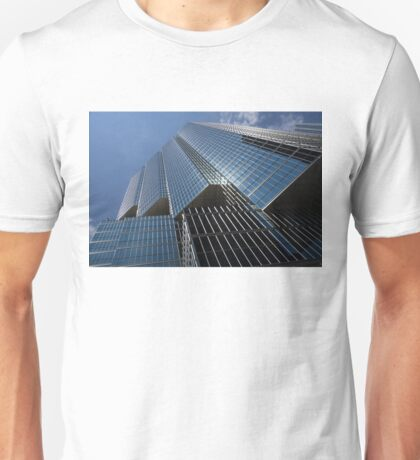 Silver Lines to the Sky - Downtown Toronto Skyscraper Unisex T-Shirt