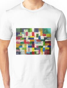 Olympics oil painting Unisex T-Shirt