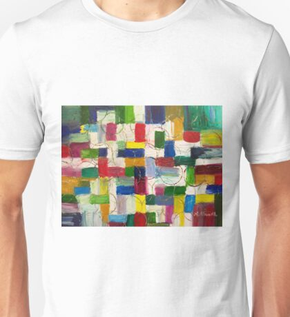 Olympics oil painting Unisex T-Shirt