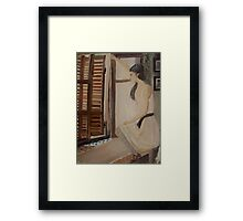 French Lady Framed Print