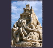 Sand Sculpture ~ a Tribute to Jules Verne Unisex T-Shirt