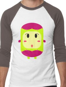 Cute character creature design - 1 Men's Baseball ¾ T-Shirt