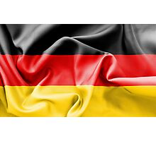 Germany Flag Photographic Print