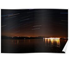 Star trailing Poster