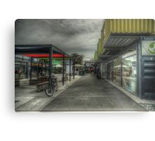 container shopping mall Metal Print