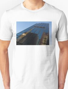 Reflecting on Skyscrapers - Downtown Atmosphere  Unisex T-Shirt