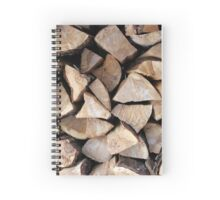 fire wood   Spiral Notebook
