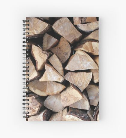 fire wood   Spiral Notebook