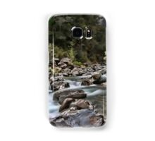 double waterfall in the south island of new zealand Samsung Galaxy Case/Skin