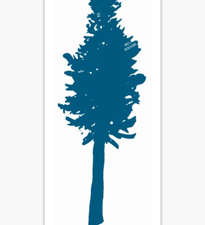 Oregonian Proud/I<3Trees!! Sticker