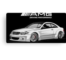 Mercedes AMG Driving Performance Canvas Print