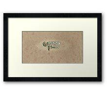 A Town Steeped in Mystery Framed Print