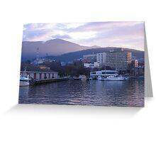 Hobart Waterfront Greeting Card